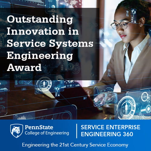 SEE Outstanding Innovation in Service System Engineering Award
